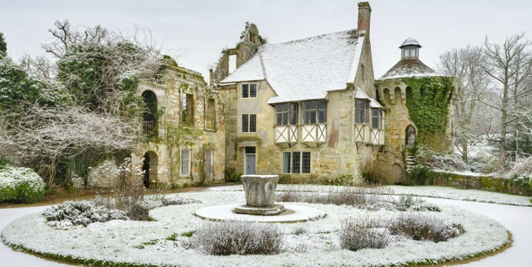 Christmas Lunch at Scotney Castle